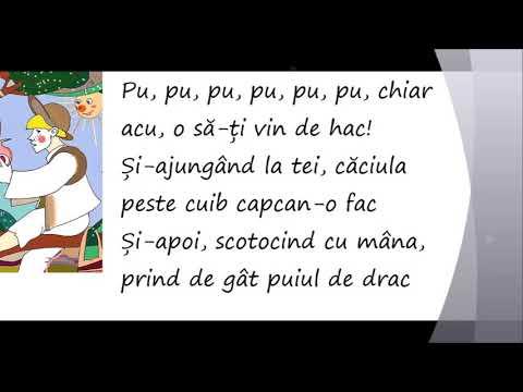 Pupaza din tei - Cantece pentru copii
