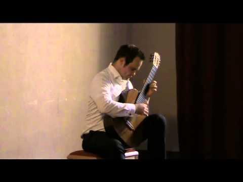 Klassische Gitarre im Kreuzer 2014 - Tristan Angenendt - Classical Guitar Concert