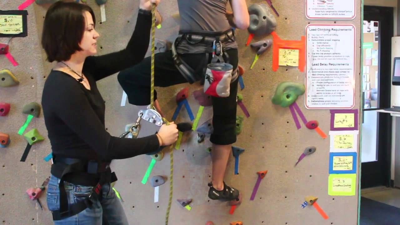 How to top rope belay youtube 1betcityfo Choice Image