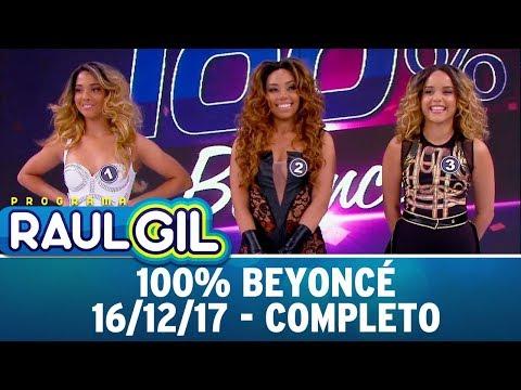 Download Youtube: 100% Beyoncé - Completo   Programa Raul Gil (16/12/17)