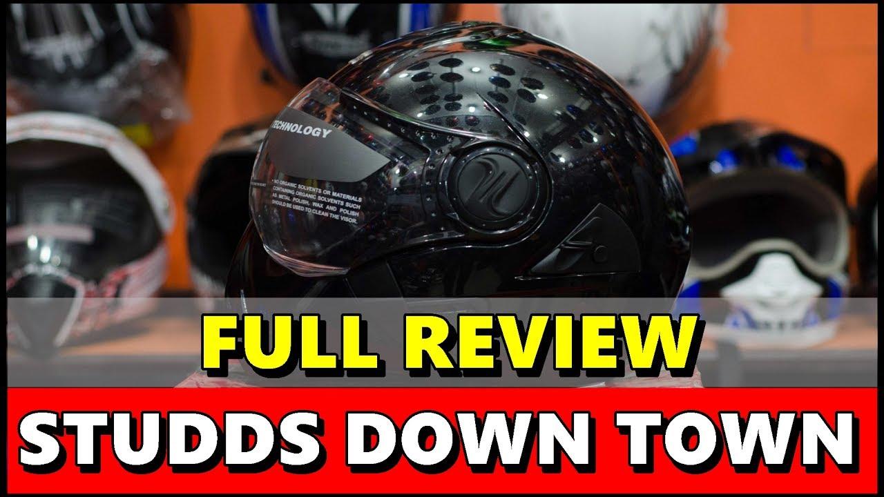 Studds Shifter Helmet Review Youtube: Studds Downtown Helmet