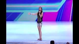 Repeat youtube video Carly Rose Sonenclar cover - Feeling Good -Nina Simone -  Live at THE X FACTOR USA 2012 [HQ]