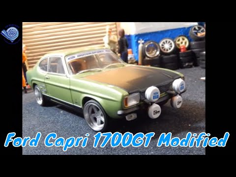 mk1 ford capri 1700gt 1969 model modified tuning by. Black Bedroom Furniture Sets. Home Design Ideas
