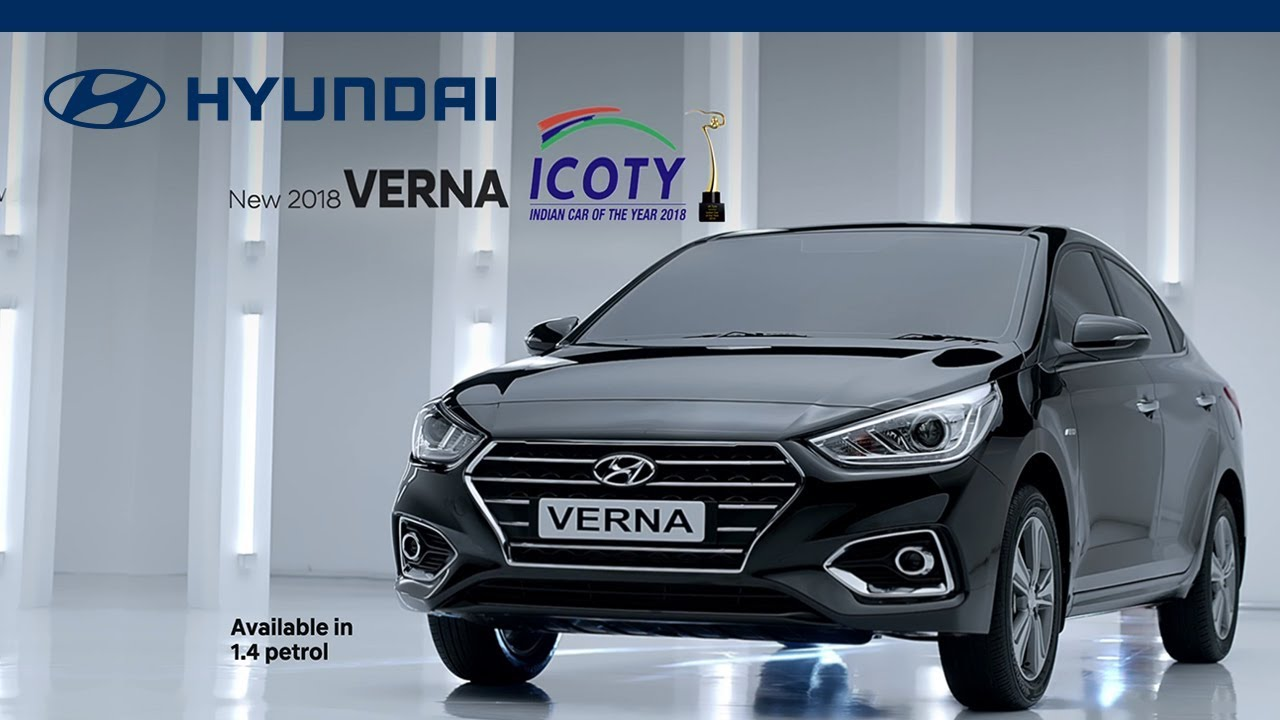 Hyundai Verna Indian Car Of The Year 2018 Tvc