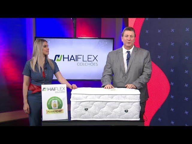 Colchão Tecnológico Haiflex no GNT