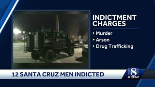 12 suspected Santa Cruz gang members indicted on federal charges