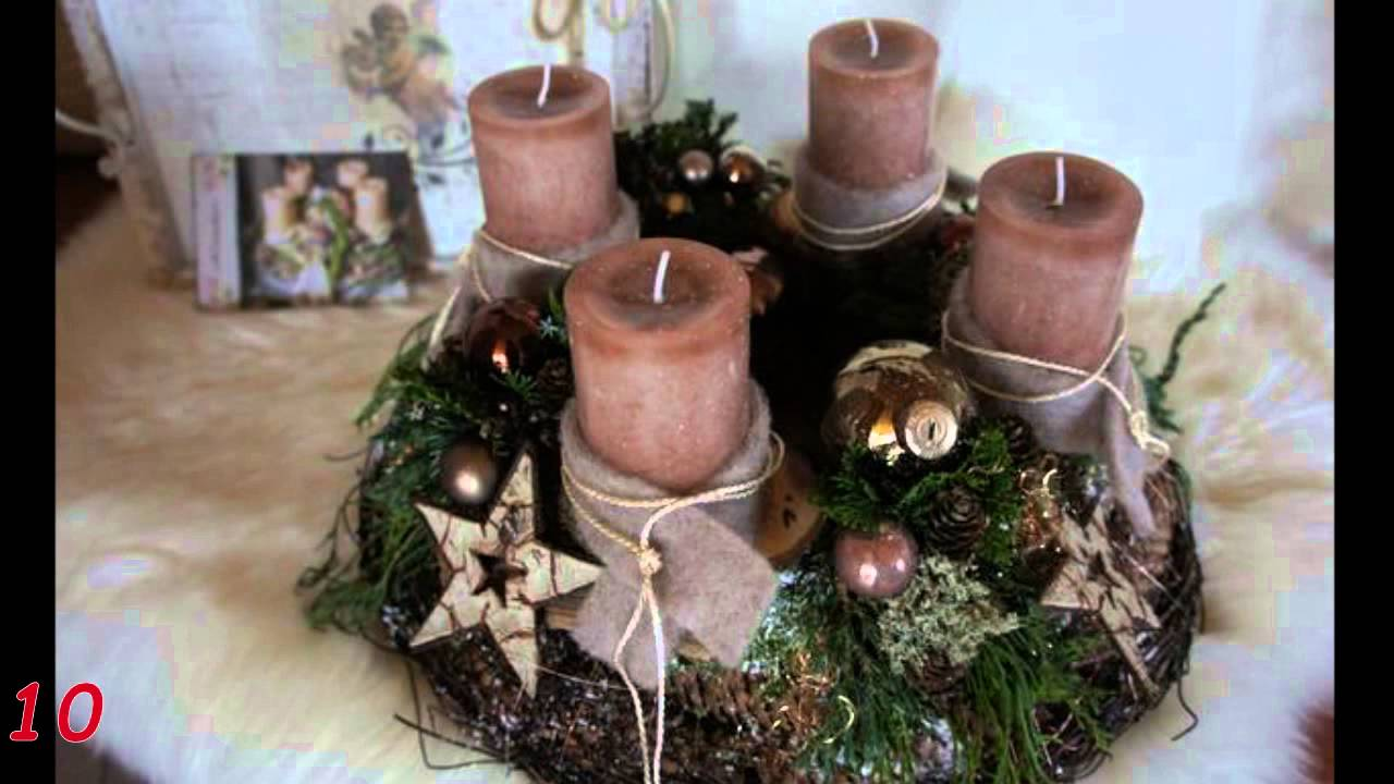 Adventskranz Ideen 20 Adventskranz Bilder Youtube