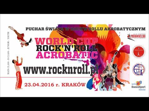 Preliminary - WORLD CUP ROCK'N'ROLL ACROBATIC KRAKOW 2016