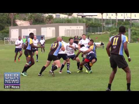 Bermuda Rugby Team Defeat Bahamas, June 4 2016