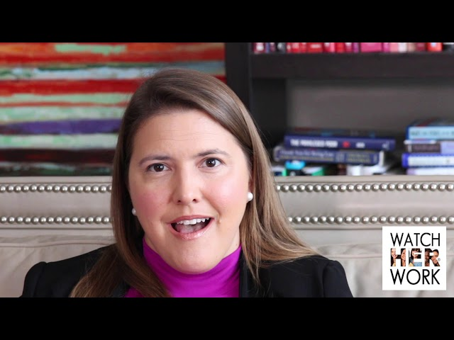 Networking: Getting Back in the Game, Anna McKay | WatchHerWorkTV