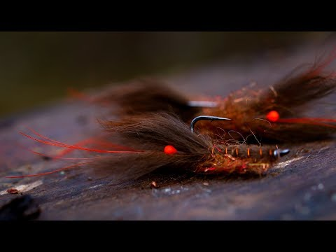 AHREX - Crayfish Zonker - Tied By Håkan Karsnäser