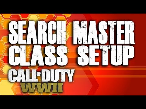 SEARCH MASTER CLASS SETUP (Call of Duty World War 2 - COD WW2)