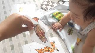 七田式では、0歳からカードを見せます❤   今回は「だれかな?カード」...