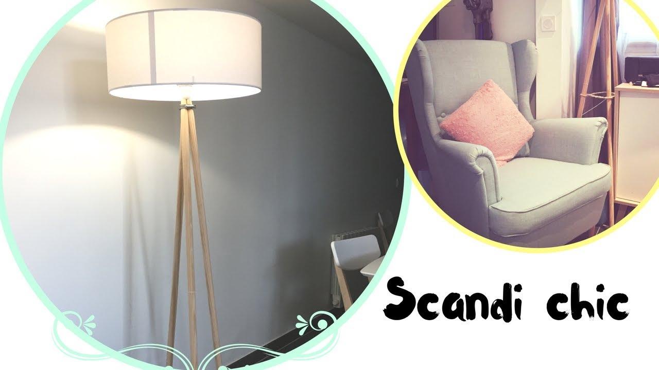 comment faire une lampe scandinave facile youtube. Black Bedroom Furniture Sets. Home Design Ideas