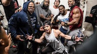 Video Live Workout: Mike Rashid, Kai Greene, Dana Linn Bailey, William Bonac, Ulisses Destroying Back download MP3, 3GP, MP4, WEBM, AVI, FLV November 2017