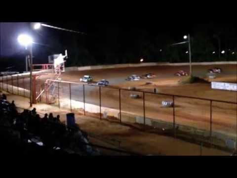 Flomaton Speedway Feature Race 05/14/2011 Carl Dodson - Tommy Lowery - Tally Warrick