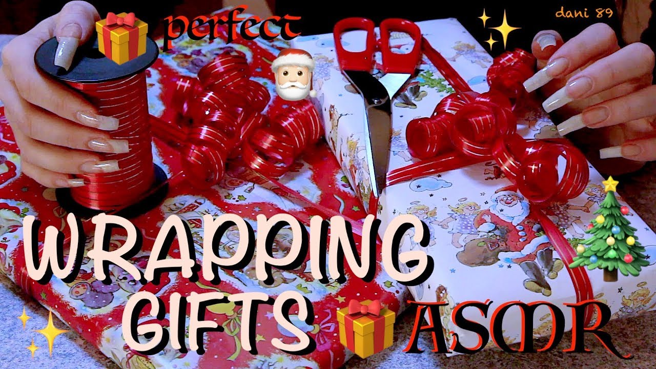 Super New Trigger Wrapping Some Gifts For Christmas Santa Claus Is Me Binaural Asmr