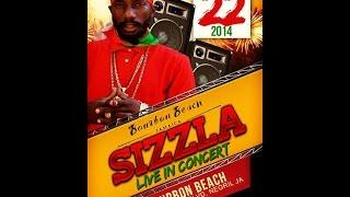 Sizzla Live At Bourbon Beach December 22, 2014