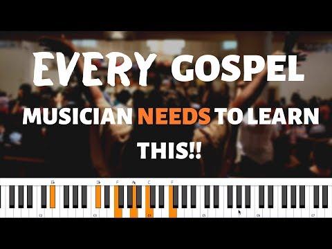 BEGINNERS GOSPEL PIANO LESSON | Basic Gospel Chord Progression