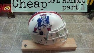 Cheap NFL Helmet. Do it yourself 1 of 2