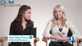 Bell Let's Talk - Alexandra Chaves, Shelby Bain & Kamia Fairburn