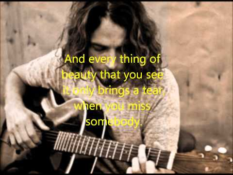 Chris Cornell - Wave Goodbye (Lyrics)