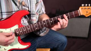 How Deep Is Your Love Lesson by The Bee Gees - Guitar Lesson, Tutorial - Chords