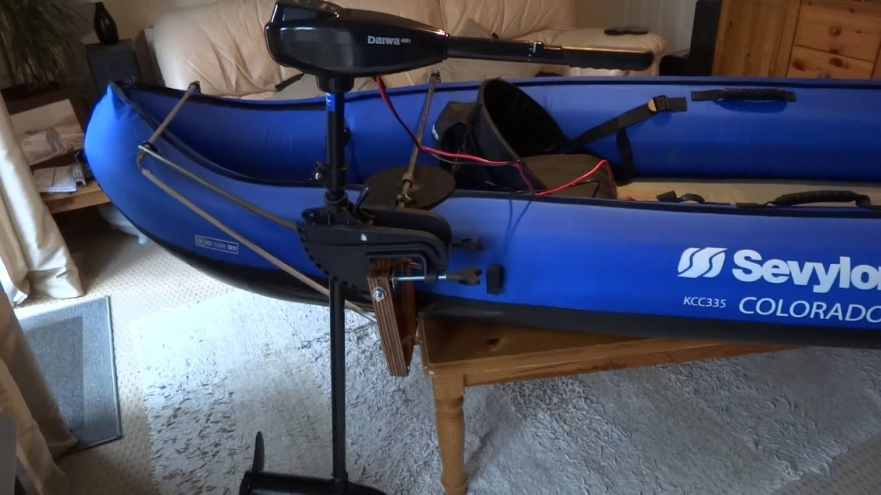 12v trolling uk domestic wiring diagram motor mount for sevylor colorado - youtube