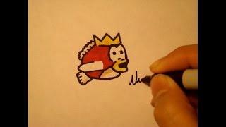How To Draw Splashy Fish Step By Step Easy