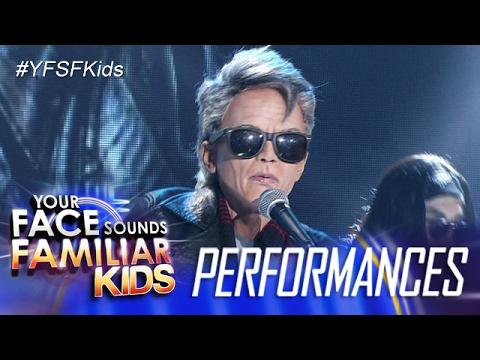 Your Face Sounds Familiar Kids: Sam Shoaf as Pepe Smith - Balong Malalim