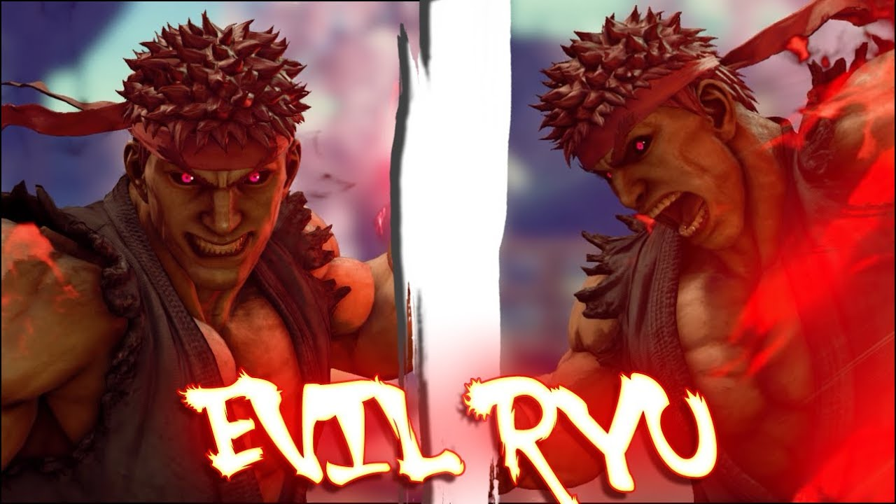 Street Fighter V PC AE mods - Evil Ryu 2 0 by MkJake65