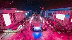 Mercedes Platz (an der Mercedes-Benz Arena) |  Essen & Trinken  + Entertainment // Dokumentation