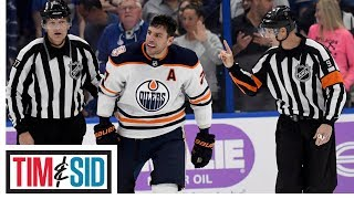Did Milan Lucic deserve his fine for roughing up of Mathieu Joseph? | Tim and Sid