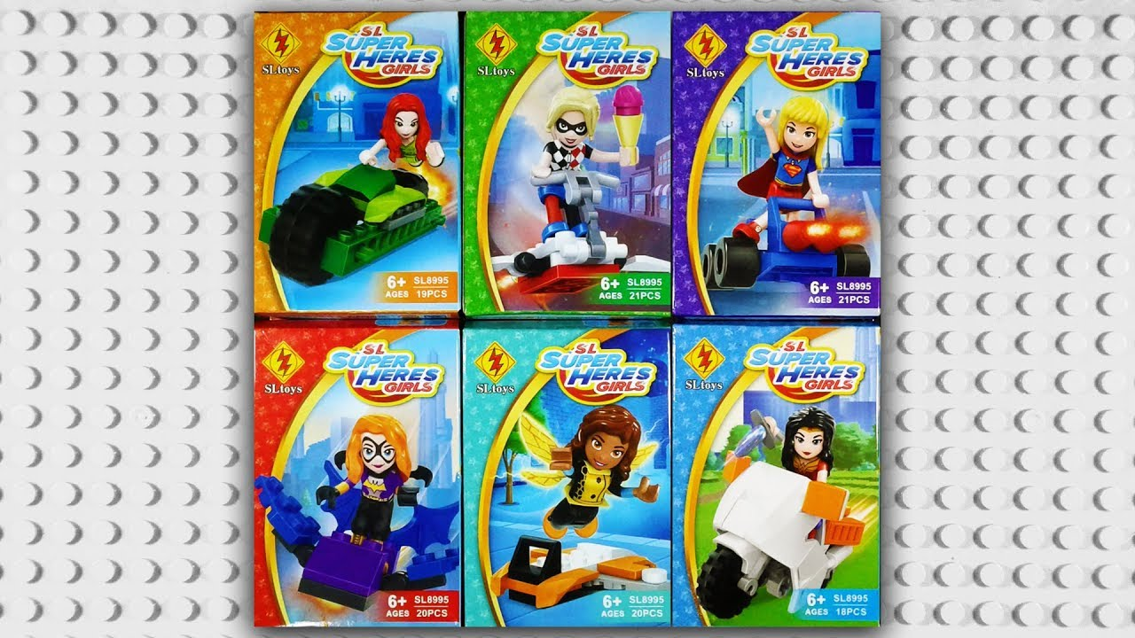 Lego New Poison Ivy DC Super Hero Girl Minifigure Women