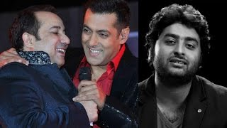 Rahat Fateh Ali Khan Reacts On Salman Kan amp Arijit Singh Controversy