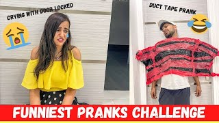 FUNNIEST PRANKS Challenge for 24 HOURS 😉