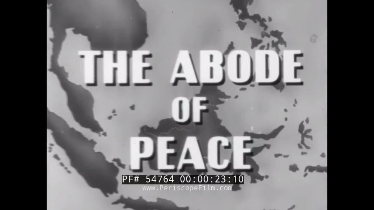 """Download """"THE ABODE OF PEACE""""  1950s BRUNEI, BORNEO  DOCUMENTARY FILM  54764"""