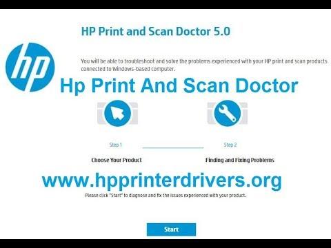 Hp-print and scan doctor скачать