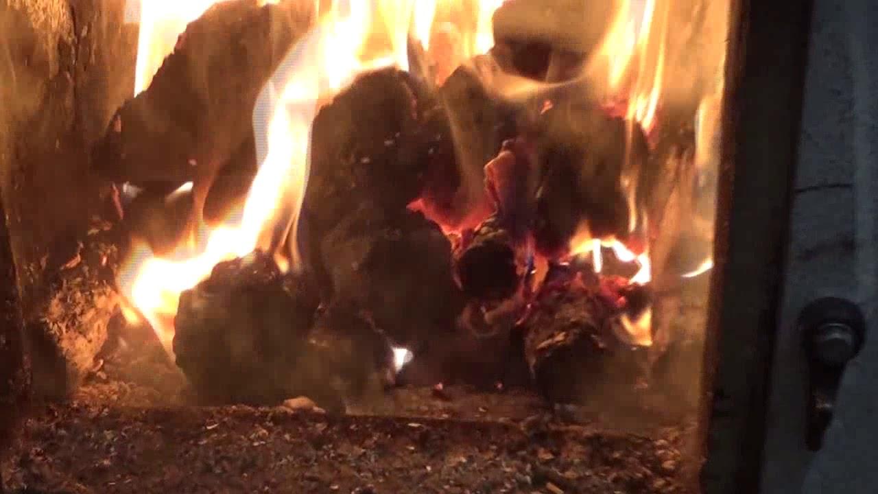 Уголь для печки вместо дров