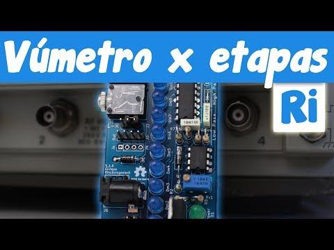 VÚMETRO LED con LM3915 por etapas