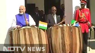 In Tanzania, PM Modi drums a new beat
