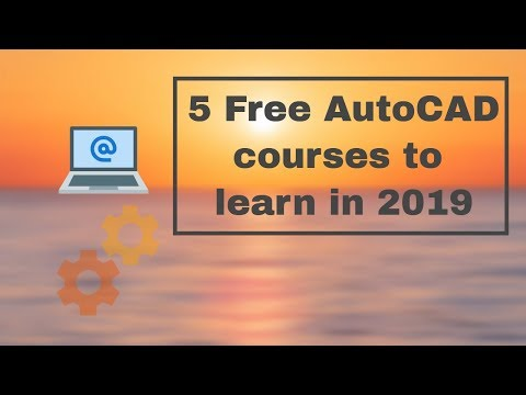 5 Best AutoCAD online training courses free in 2019  #AutoCAD #OnlineCourse