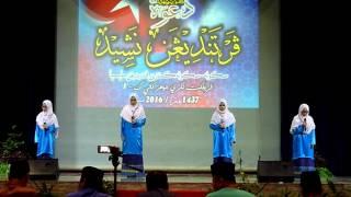 NAIB JOHAN Nasyid KDSS Johor 2016 - Raudhah