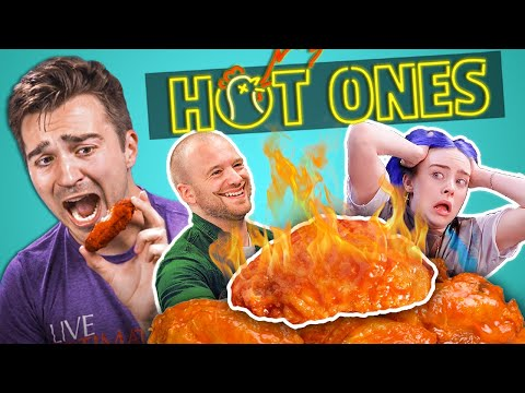 VIDEO: Adults React To Hot Ones