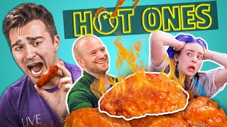 Download Adults React To Hot Ones Mp3 and Videos
