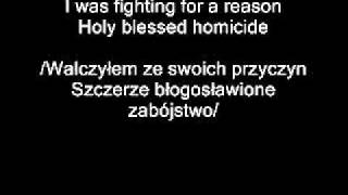 Disturbed Overburdened PL (lyrics) PL&EN