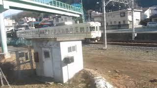 JR東日本211系「中央本線」甲府行きが大月駅を発車(車内より)