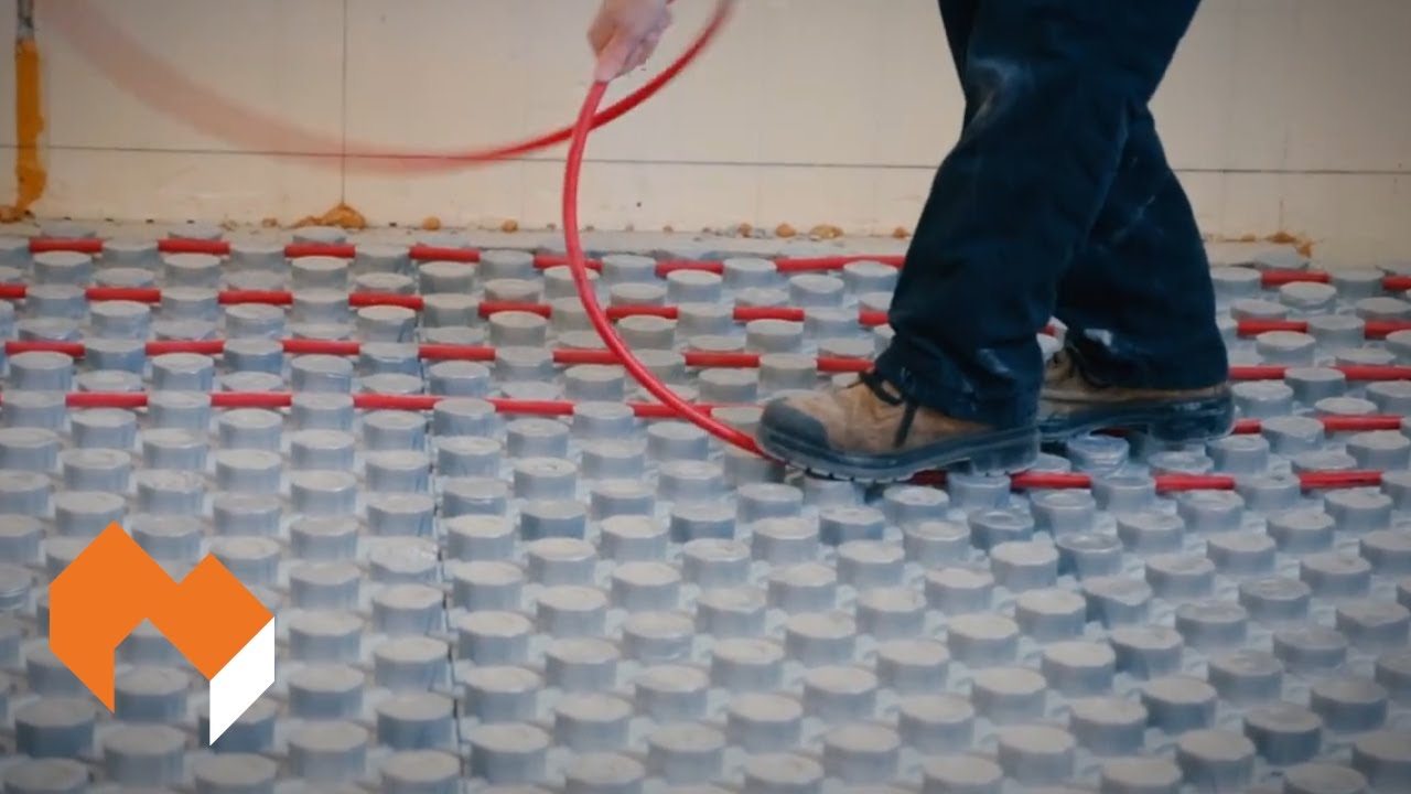 Amvic Ampex Insulated Radiant Heating Pex Panel