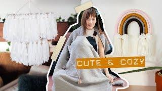 Cozy DIYs to make for your dorm! (or home!)