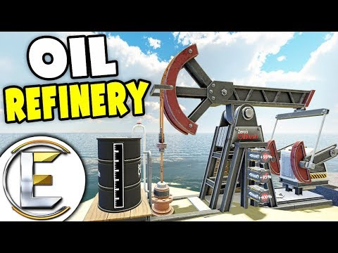 Oil Refinery - Gmod DarkRP (Found Crude Oil, Drilled it, Pumped It and Made 3.5 Million Dollars)